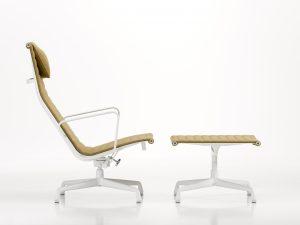 Vitra Aluminiun Chair EA124, EA 125, Design Charles & Ray Eames, 1958