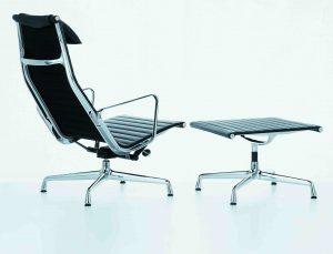 Vitra Aluminiun Chair EA124 Charles & Ray Eames 1958