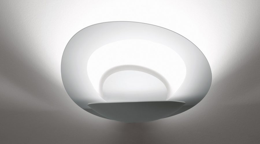 Sfeerimpressie Artimide Pirce wandlamp