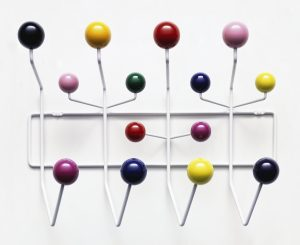 Vitra accessoires Hang it all Charles &Ray Eames 1953