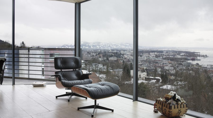 Vitra Lounge Chair & Ottoman Anniversary Edition 2006, Design Charles & Ray Eames, 1956