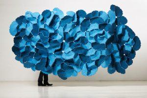 Kvadrat meubelstoffen Clouds