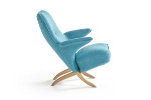 Artifort-Pinguin-3 blauw zijde