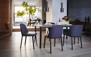 Vitra-Plate-Table-Softshell Chair