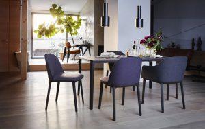Vitra-Plate-Table-Softshell Chair